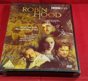 Brand New and Sealed Robin Hood Volume One Episodes One to Five DVD