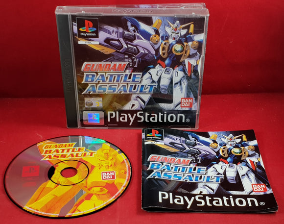Gundam Battle Assault Sony Playstation 1 (PS1) RARE Game