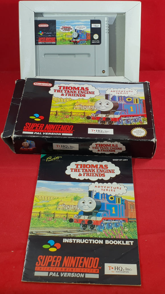 Thomas The Tank Engine & Friends SNES (Super Nintendo entertainment System) Ultra Rare