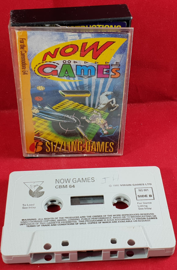 Now Games Commodore 64 Game