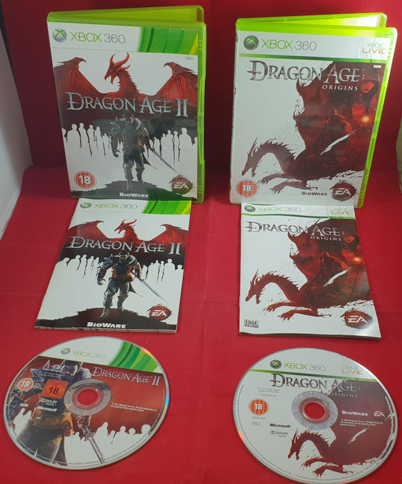 Dragon Age Origins & Dragon Age II Microsoft Xbox 360 Game Bundle