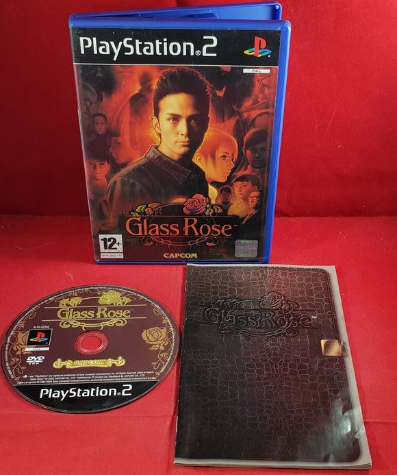 Glass Rose  Sony PlayStation 2 (PS2) RARE Game