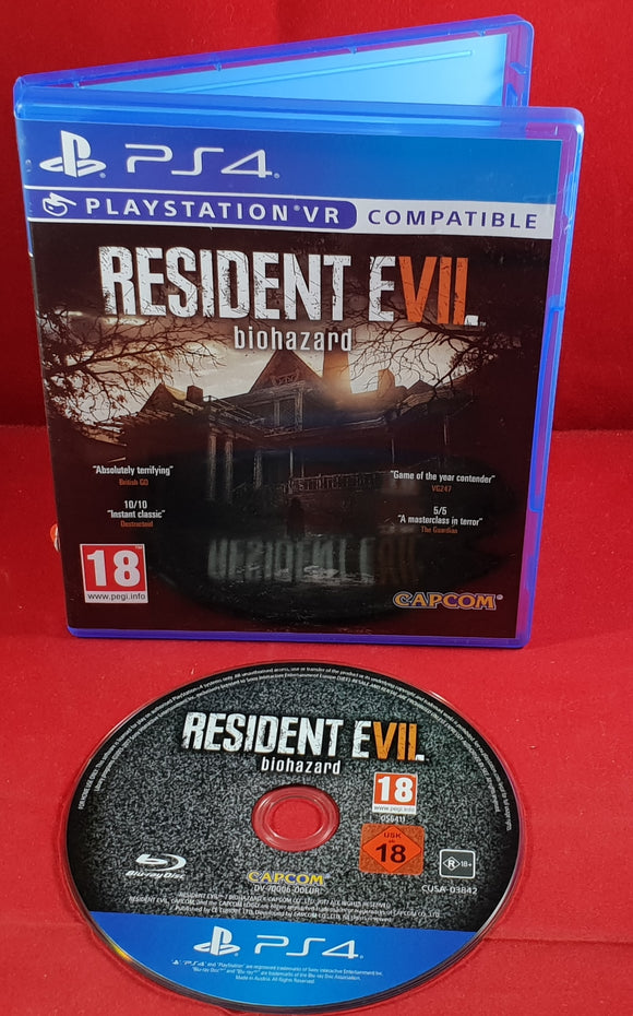 Resident Evil Biohazard PS4 (Sony Playstation 4) Game