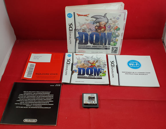 Dragon Quest Monsters Joker Nintendo DS Game