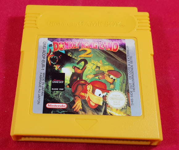 Donkey Kong Land 2 Cartridge Only Nintendo Game Boy Game