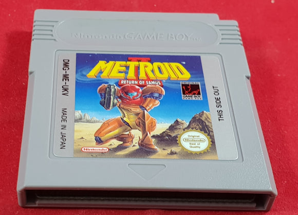 Metroid II Return of Samus Cartridge Only Nintendo Game Boy Game