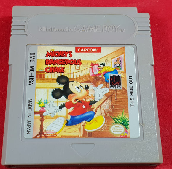 Mickey's Dangerous Chase Cartridge Only Nintendo Game Boy Game