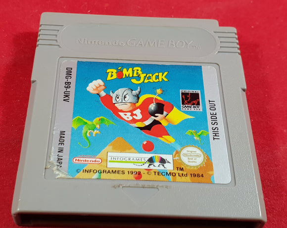 Bomb Jack Cartridge Only Nintendo Game Boy Game