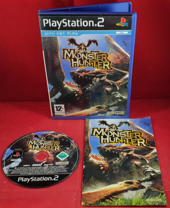 Monster Hunter Sony Playstation 2 (PS2) Game