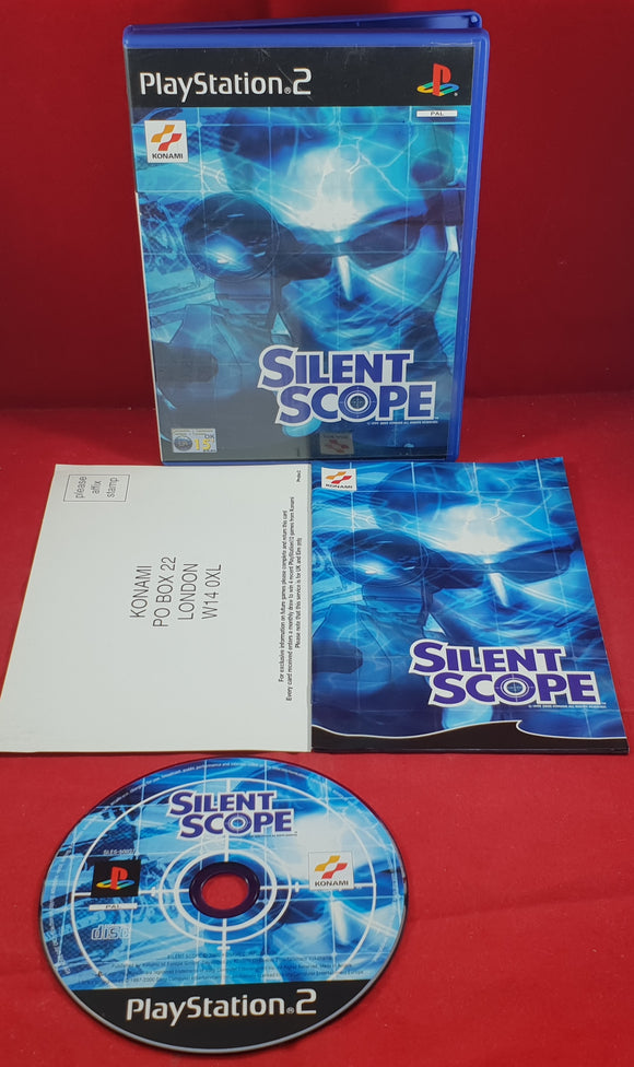 Silent Scope Sony Playstation 2 (PS2) Game