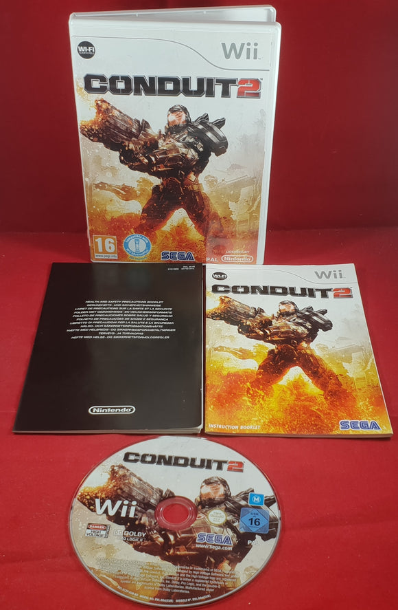 Conduit 2 Nintendo Wii Game