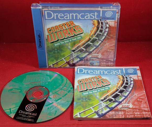 Coaster Works Sega Dreamcast Rare Game