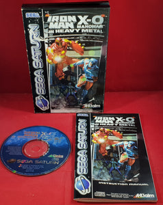 Iron-Man / X-O Manowar in Heavy Metal Sega Saturn RARE Game