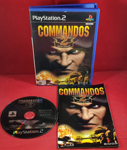 Commandos 2 Men of Courage Sony Playstation 2 (PS2) Game