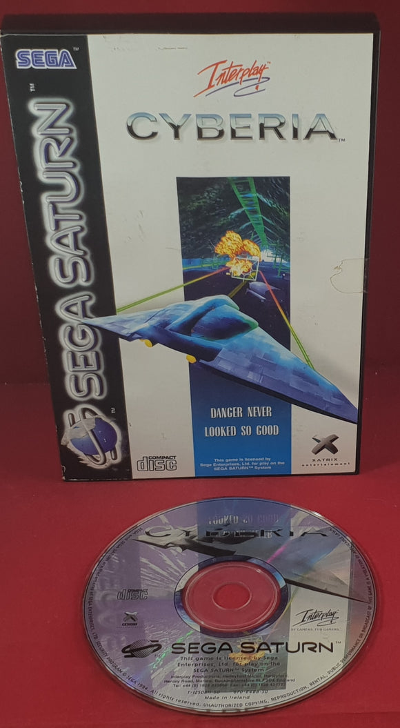 Cyberia Sega Saturn RARE Game