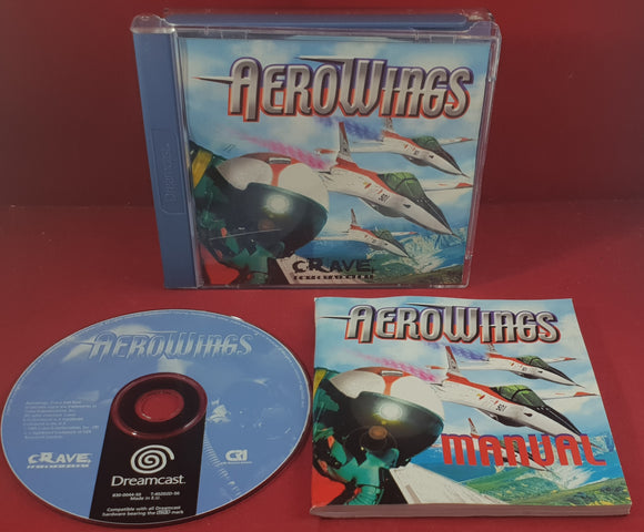 Aerowings Sega Dreamcast Game