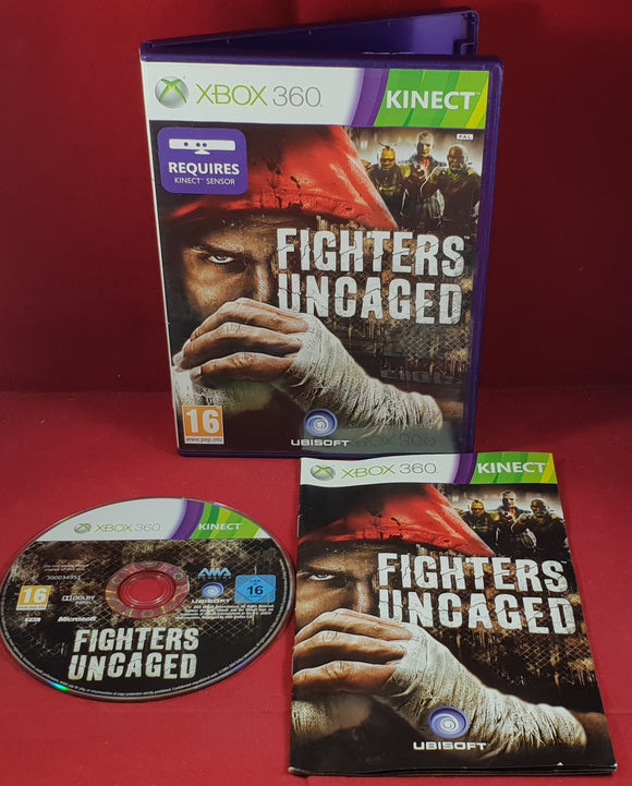Fighters Uncaged Microsoft Xbox 360 Game