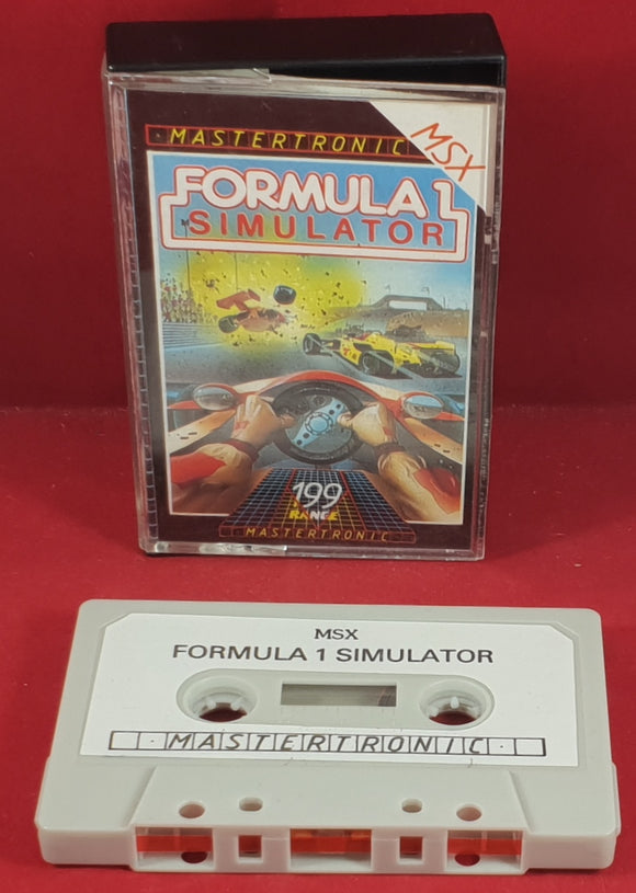 Formula 1 Simulator MSX Game