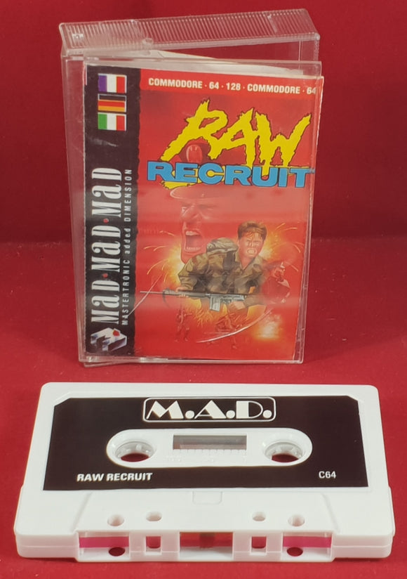 Raw Recruit Commodore 64 Game