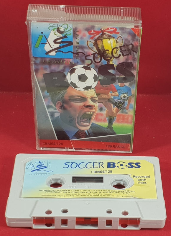 Soccer Boss Commodore 64 Game