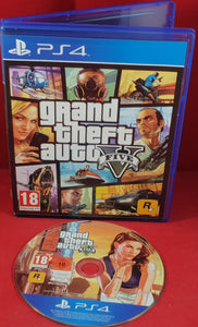 Grand Theft Auto V Sony Playstation 4 (PS4) Game