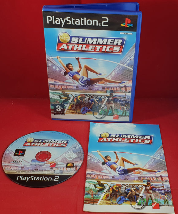 Summer Athletics Sony Playstation 2 (PS2) Game