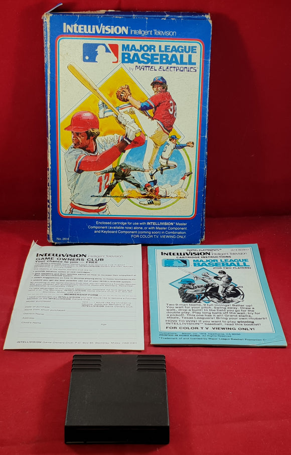 Major League Baseball Intellivision Game