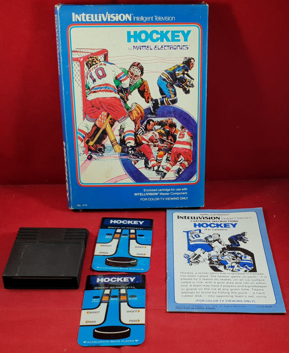 Hockey Intellivision Game