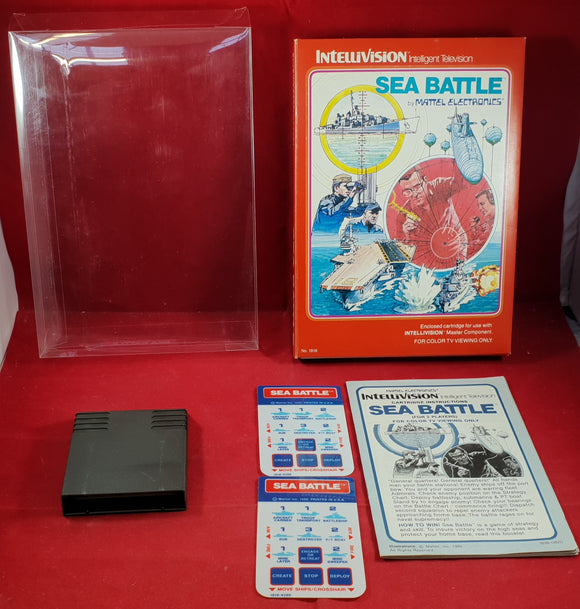 Sea Battle Intellivision Game