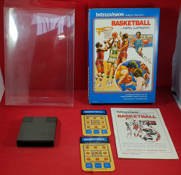Basketball Intellivision Game