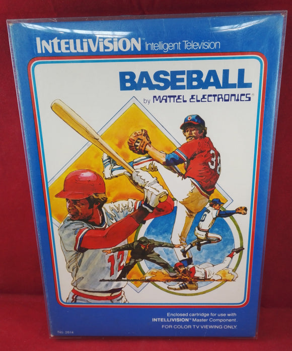Baseball Intellivision Game