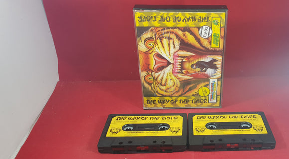 The Way of the Tiger Sinclair ZX Spectrum Game