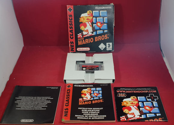 Super Mario Bros. Nintendo Gameboy Advance RARE Game
