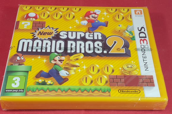 Brand New and Sealed New Super Mario Bros. 2 Nintendo 3DS Game