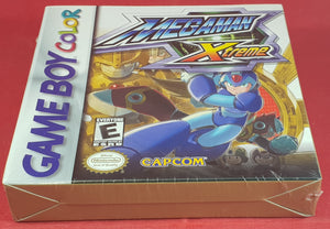 Brand New and Sealed Megaman Xtreme Nintendo Game Boy Color RARE Game