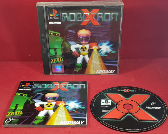 Robotron X PS1 (Sony Playstation 1) Game