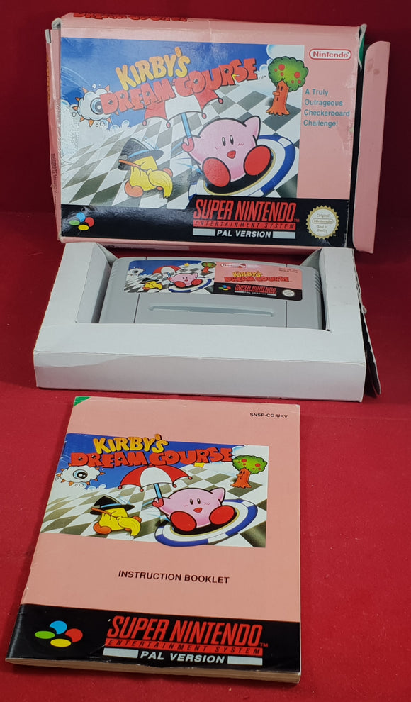 Kirby's Dream Course Super Nintendo Entertainment System (SNES) RARE Game