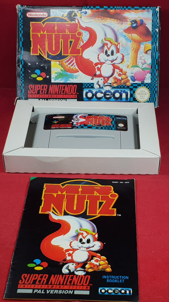 Mr. Nutz  Super Nintendo Entertainment System (SNES) Game