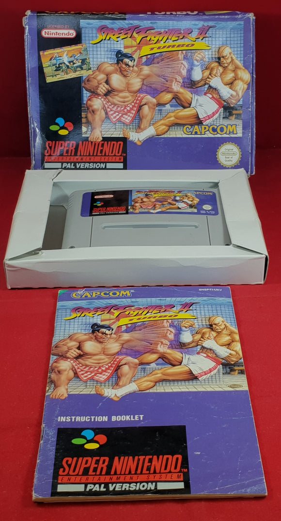 Street Fighter II Turbo Super Nintendo Entertainment System (SNES) Game