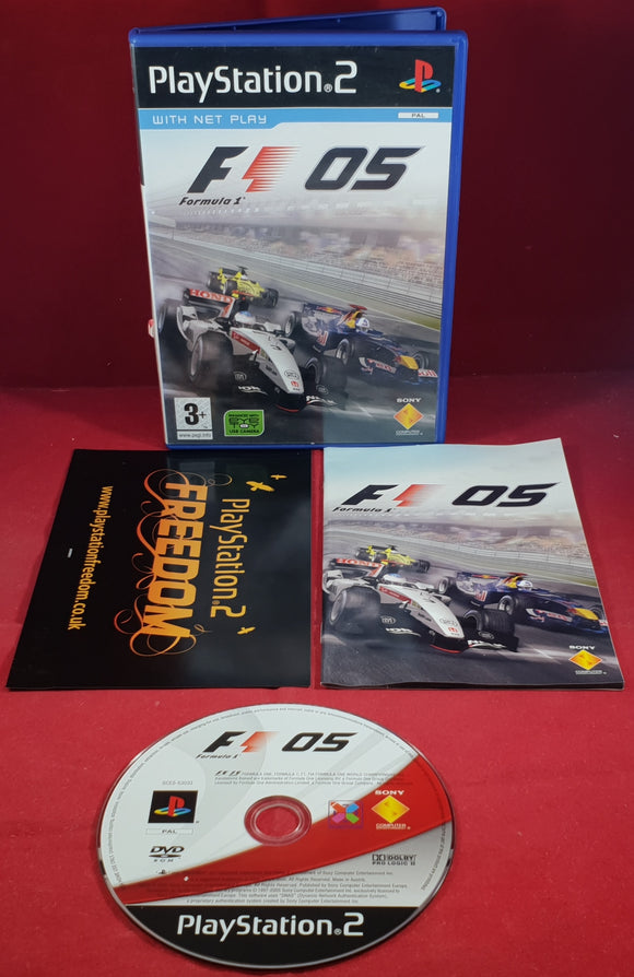 Formula One 05 Sony Playstation 2 (PS2) Game