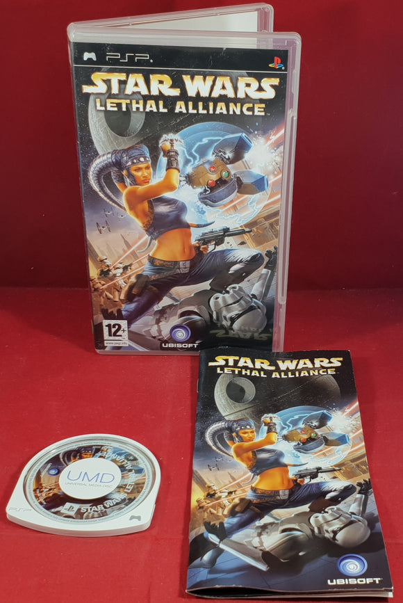 Star Wars Lethal Alliance Sony PSP Game