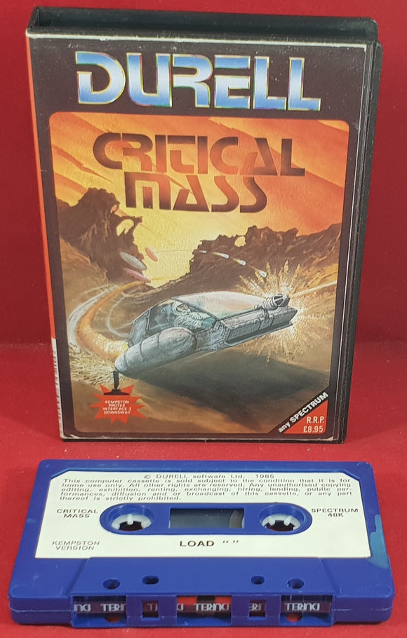 Critical Mass ZX Spectrum Game