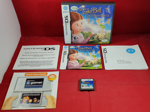 Tinker Bell and the Great Fairy Rescue Nintendo DS Game