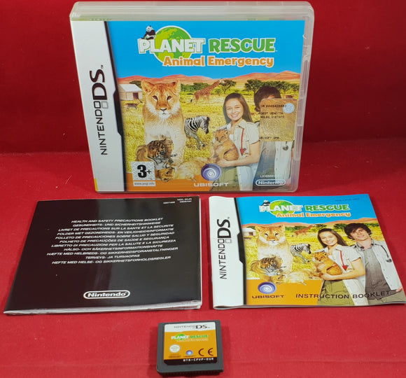 Planet Rescue Animal Emergency Nintendo DS Game