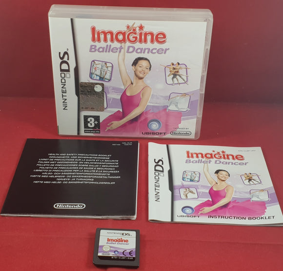 Imagine Ballet Dancer Nintendo DS Game