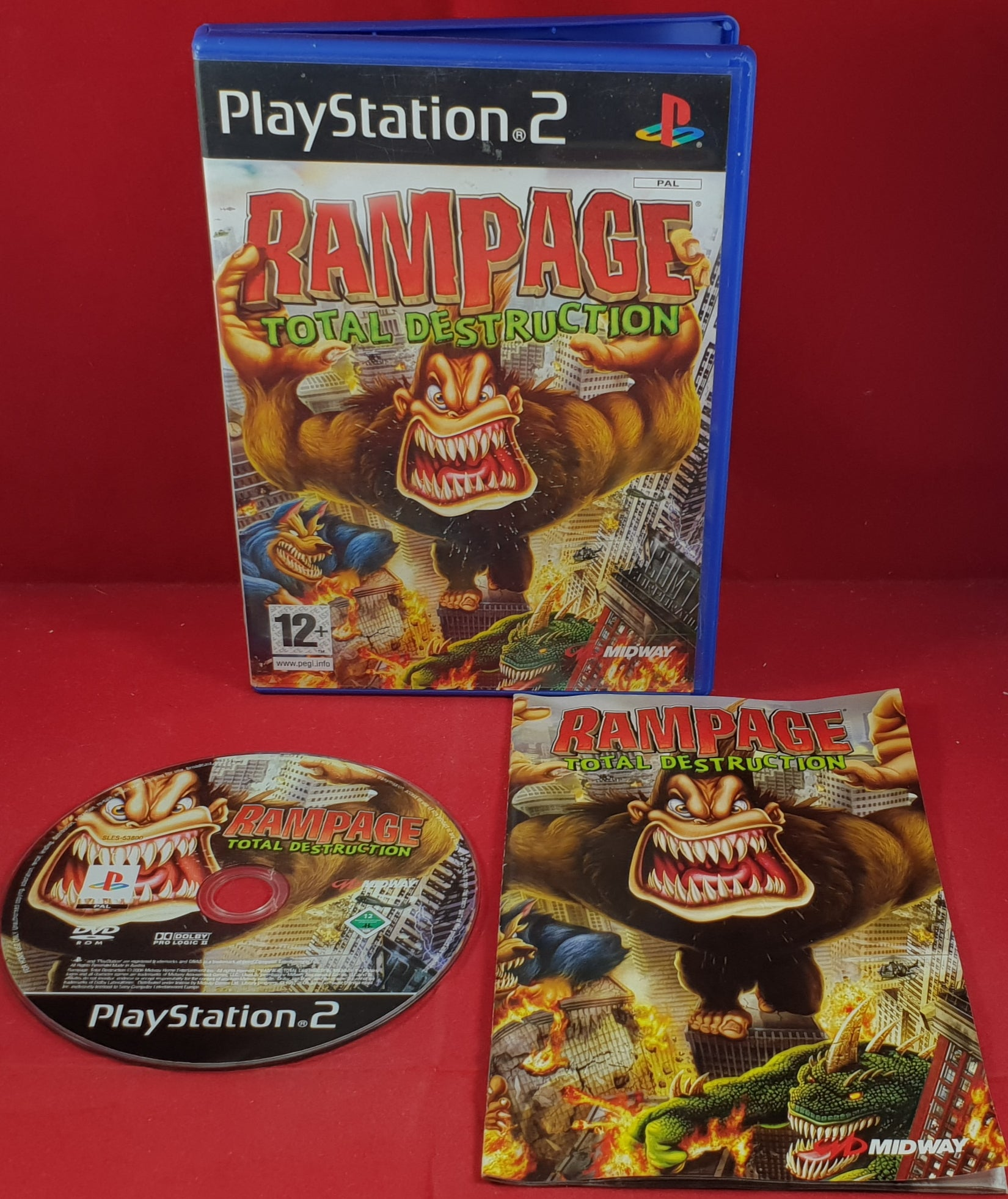 Rampage Total Destruction Sony Playstation 2 Ps2 Retro Gamer Heaven