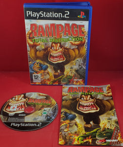 Rampage Total Destruction Sony Playstation 2 Ps2 Retro Gamer
