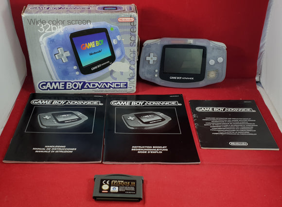 Boxed Game Boy Advance Console with Star Wars Episode III Cartridge