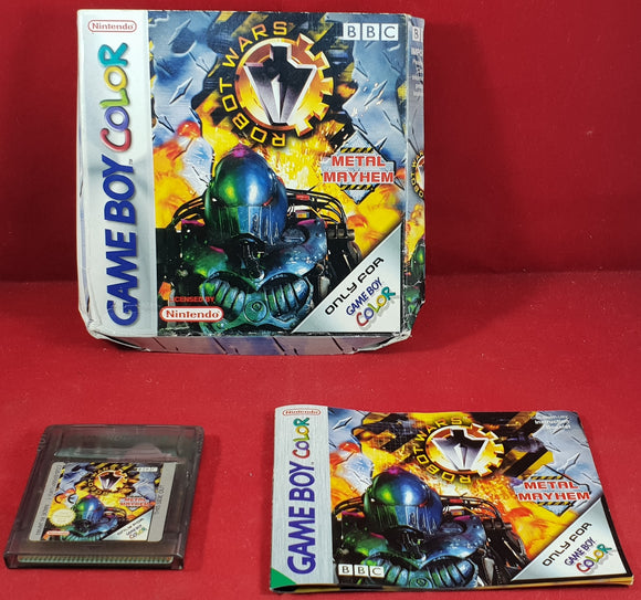 Robot Wars Metal Mayhem Nintendo Gameboy Color Game
