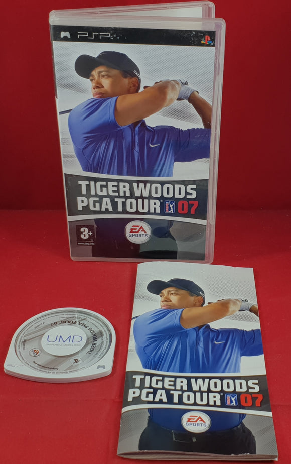 Tiger Woods PGA Tour 07 Sony PSP Game